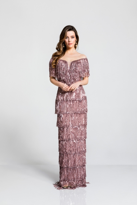 You will be the most beautiful with the elaborate evening gowns of the collection 2019 spring/summer of Sharbet!